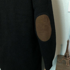 Mark & Graham Sweaters - Mark & Graham Lambs Wool Black Cardigan Sweater